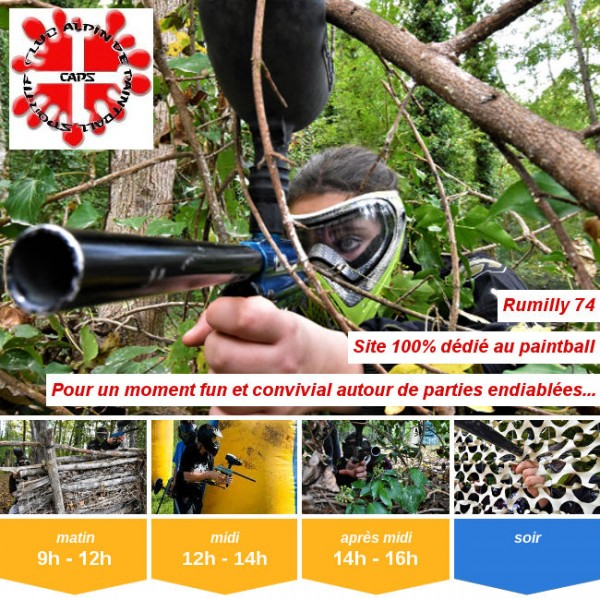Vignette - Paintball Rumilly