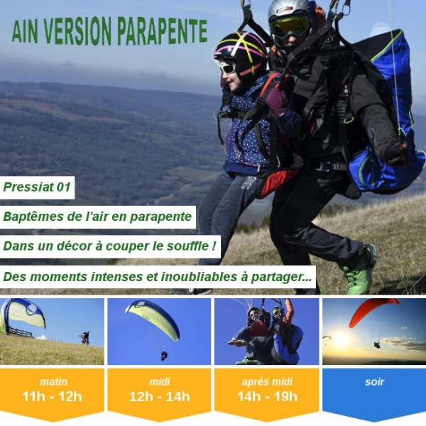 Vignette - Ain'Version Parapente