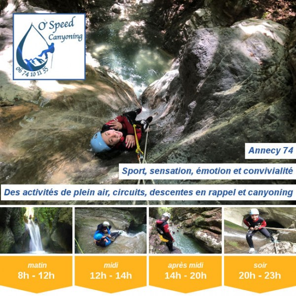 Vignette - O'Speed Canyoning