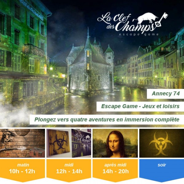 Vignette - La Clef des Champs - Escape Game