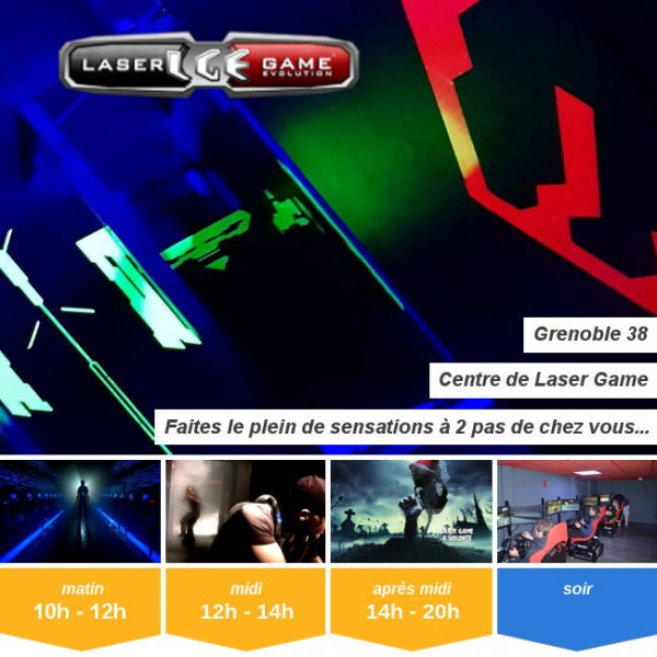 Vignette - Laser Game Evolution Grenoble