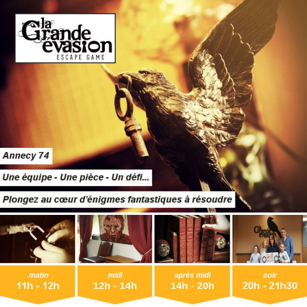 Vignette - La Grande Évasion - Escape game