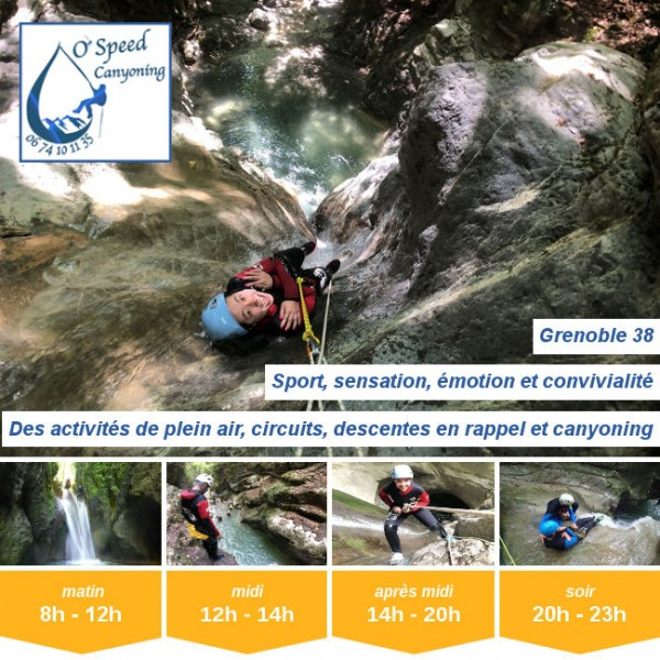 Vignette - O'Speed Canyoning Grenoble