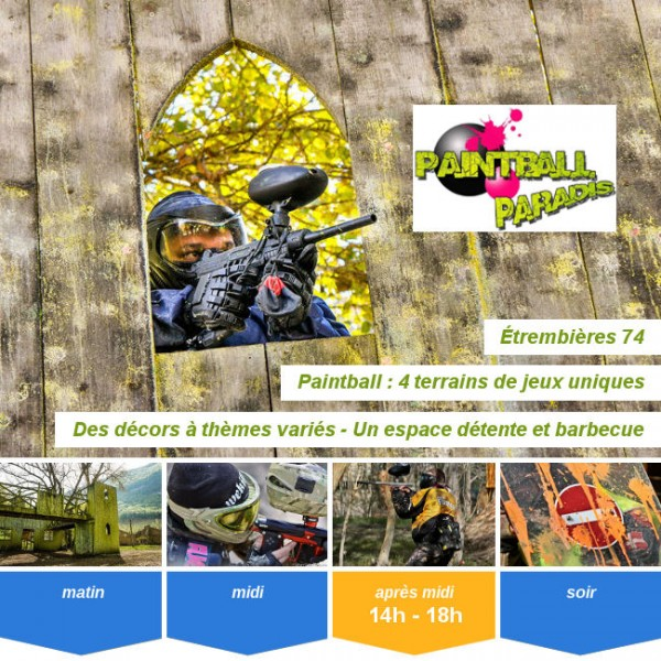Vignette - Paintball Paradis