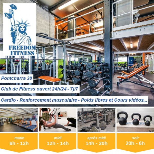 Vignette - Freedom Fitness Pontcharra