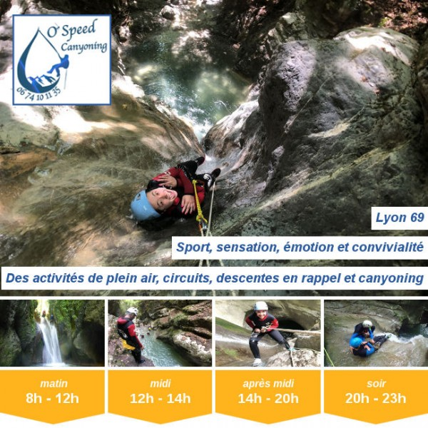 Vignette - O'Speed Canyoning Lyon